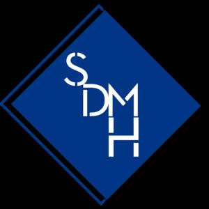 logo sdmh version bleue